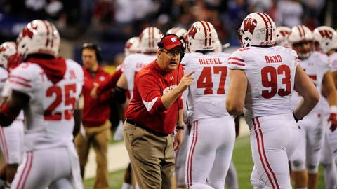 8. Paul Chryst named Big Ten coach of the year