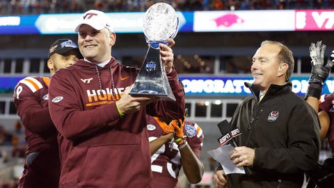 1. Fuente does something no first-year Hokies coach has done