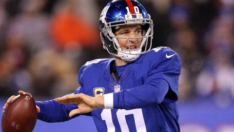 NFC #5 seed: New York Giants (10-4)