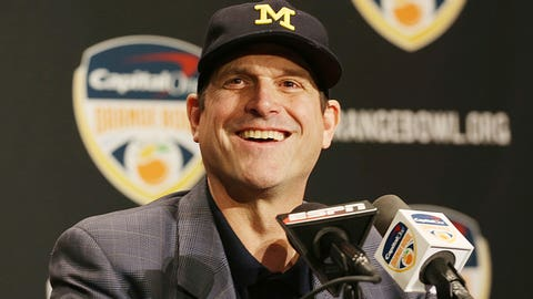 Michigan: Just keep letting Jim Harbaugh be Jim Harbaugh