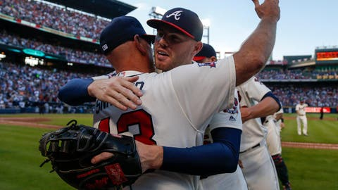 On the First day of Christmas, the Atlanta Braves gave to thee