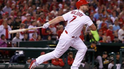 Rockies call up Matt Holliday with Cardinals headed to Denver