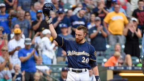 2. Brewers trade longtime catcher Jonathan Lucroy to Texas Rangers