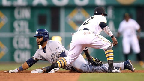 10. Jonathan Villar becomes 3rd player in Brewers franchise history to lead majors in stolen bases (62)