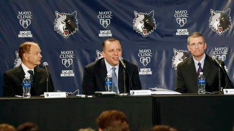 2. Timberwolves hire Tom Thibodeau as head coach