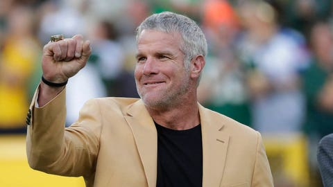 1. Brett Favre elected to Pro Football Hall of Fame
