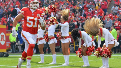 AFC #5 seed: Kansas City Chiefs (10-4)