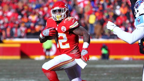 Spencer Ware, RB, Chiefs