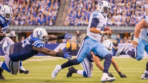 November 26: Tennessee Titans at Indianapolis Colts, 1 p.m. ET