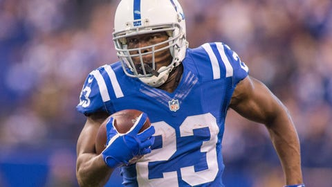 Frank Gore, RB, Colts (UFA)