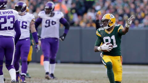 Offensive Rookie of the Year: Geronimo Allison