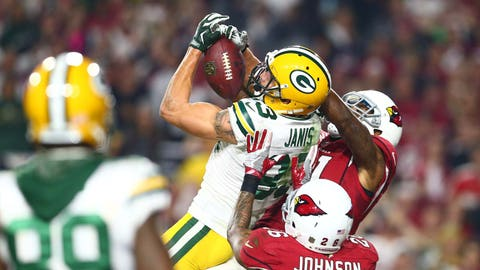 4. NFC Divisional playoff: Packers tie Cardinals with Hail Mary to force overtime, then lose on first series