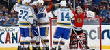 Blues slip by Blackhawks in Alumni Game for the ages