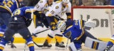 Predators come to St. Louis with the post-Christmas blues