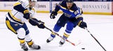 Blues expect hard-fought series against Predators