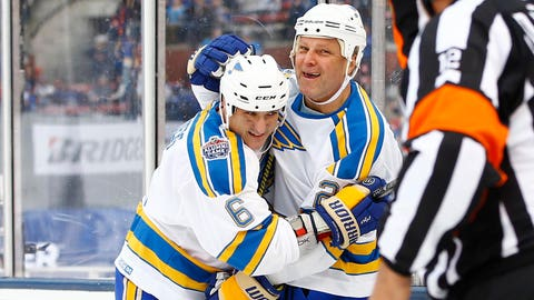 Peter Stastny, Jamie Rivers