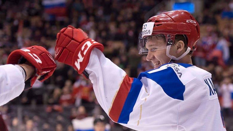 Prospect Kaprizov last Wild rep standing at world championships