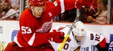 Shoulder injury sidelines Red Wings' Marchenko