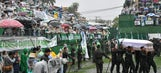 Fans and loved ones say final goodbye to killed Chapecoense players