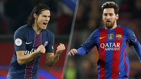 Paris Saint-Germain vs. Barcelona