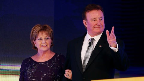 Richard Childress and wife Judy