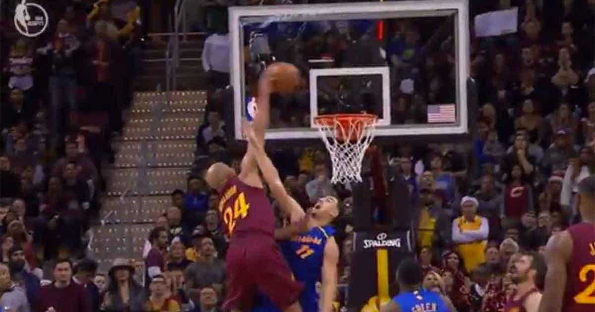 a2c26f0221c7 Watch 36-year-old Richard Jefferson dunk all over Kevin Durant