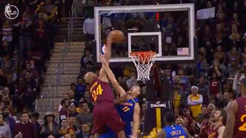 Most likely to bust out a surprise dunk that erases an opponent: Richard Jefferson