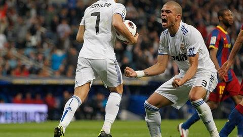 April 16, 2011 -- Ronaldo joins the party