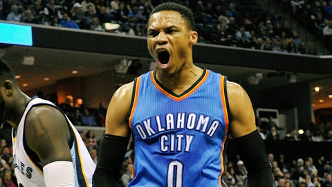 WEST: Guard — Russell Westbrook, Oklahoma City Thunder