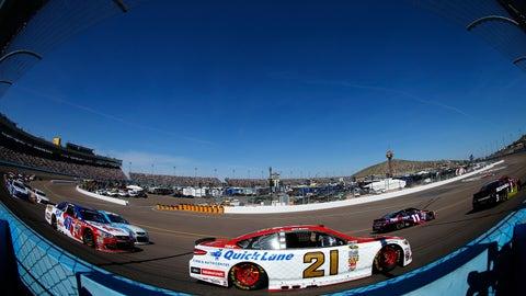 Ryan Blaney, Phoenix International Raceway, 9.0 average finish