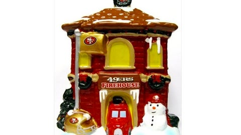 San Francisco 49ers Holiday Village Firehouse