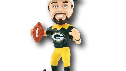 "Aaron Rodgers 4"" Elf Player Ornament"