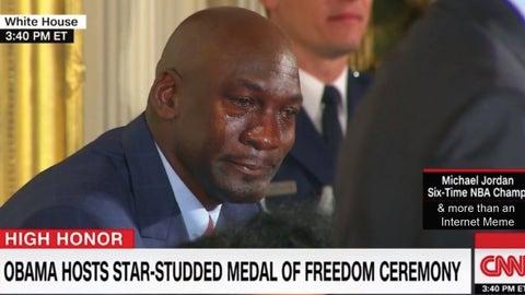President Obama: 'Michael Jordan is more than an internet meme'