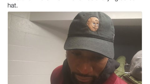 Andre Drummond: appreciator of Crying Jordan couture