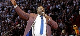 Shaquille O'Neal's jersey retired by Miami Heat