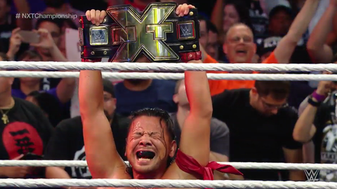 Nakamura wins the NXT title in Brooklyn