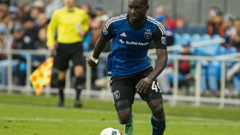 San Jose Earthquakes - Simon Dawkins: $800,000
