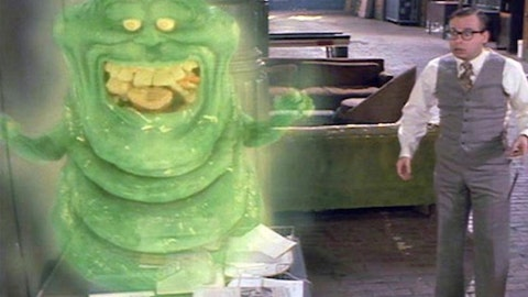 Slimer from 'Ghostbusters'