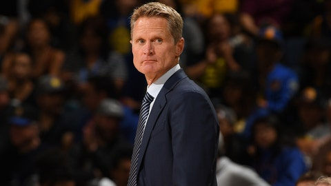 Steve Kerr, Golden State Warriors: B