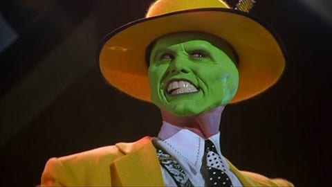 Jim Carrey in 'The Mask'