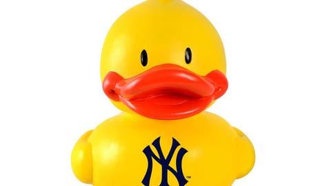Yankees Duck Ornament