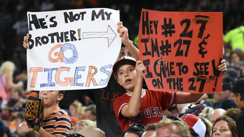 When Mike Trout causes a rift between young baseball fans in Detroit
