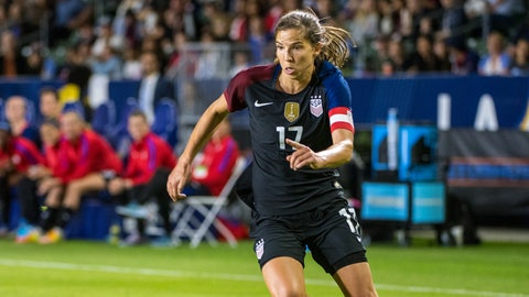 Most Valuable Player: Tobin Heath