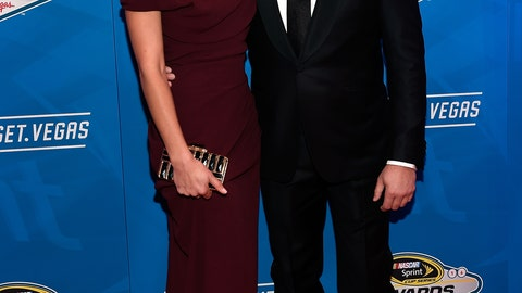 Tony Stewart and girlfriend Pennelope Jimenez
