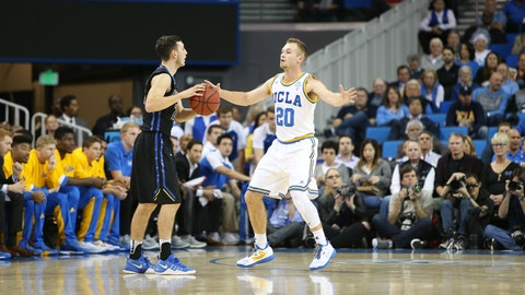 Bryce Alford and UCLA's pressure was too much for the UCSB Gauchos on Wednesday night.