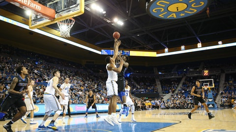 The UCLA Bruins stayed perfect on the season with a 40-point win over UCSB.