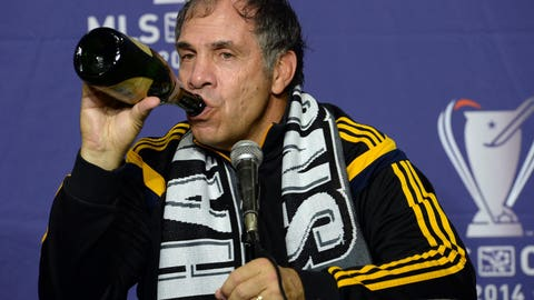 For Bruce Arena: Your own champagne brand
