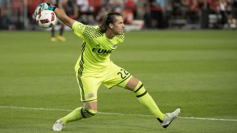 Sort out the goalkeeper situation