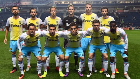 For the Columbus Crew: New away kits