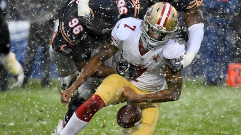 San Francisco's passing offense in Chicago